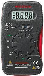 карманный мультиметр M320