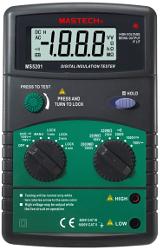измеритель сопротивления изоляции MS5201