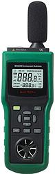 цифровой измеритель параметров окружающей среды MS6300